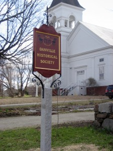 Danville Historical Society sign