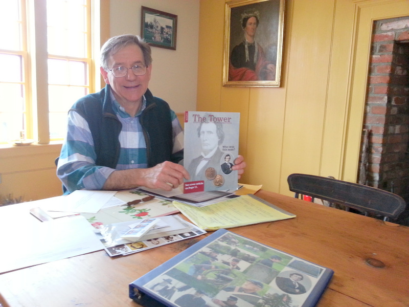Don Gallagher,  A Stamp for Stevens volunteer