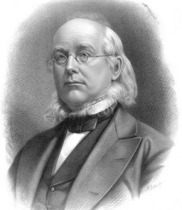 Horace Greeley, newspaperman.