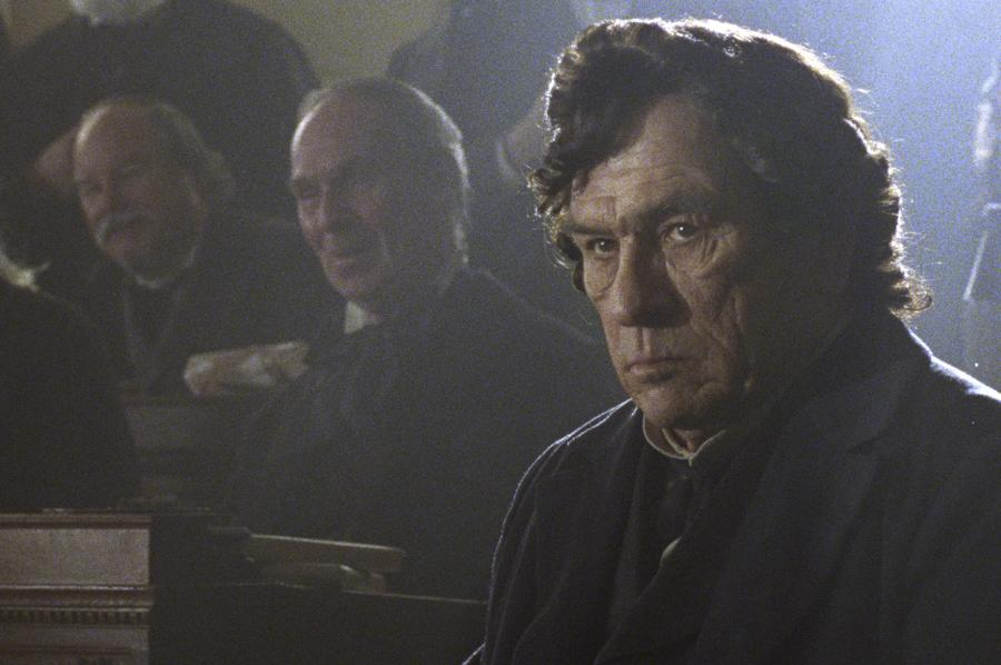 Tommy Lee Jones as Thaddeus Stevens in Spielberg's Lincoln