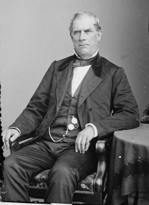 Thurlow Weed, party boss Republican in New York.