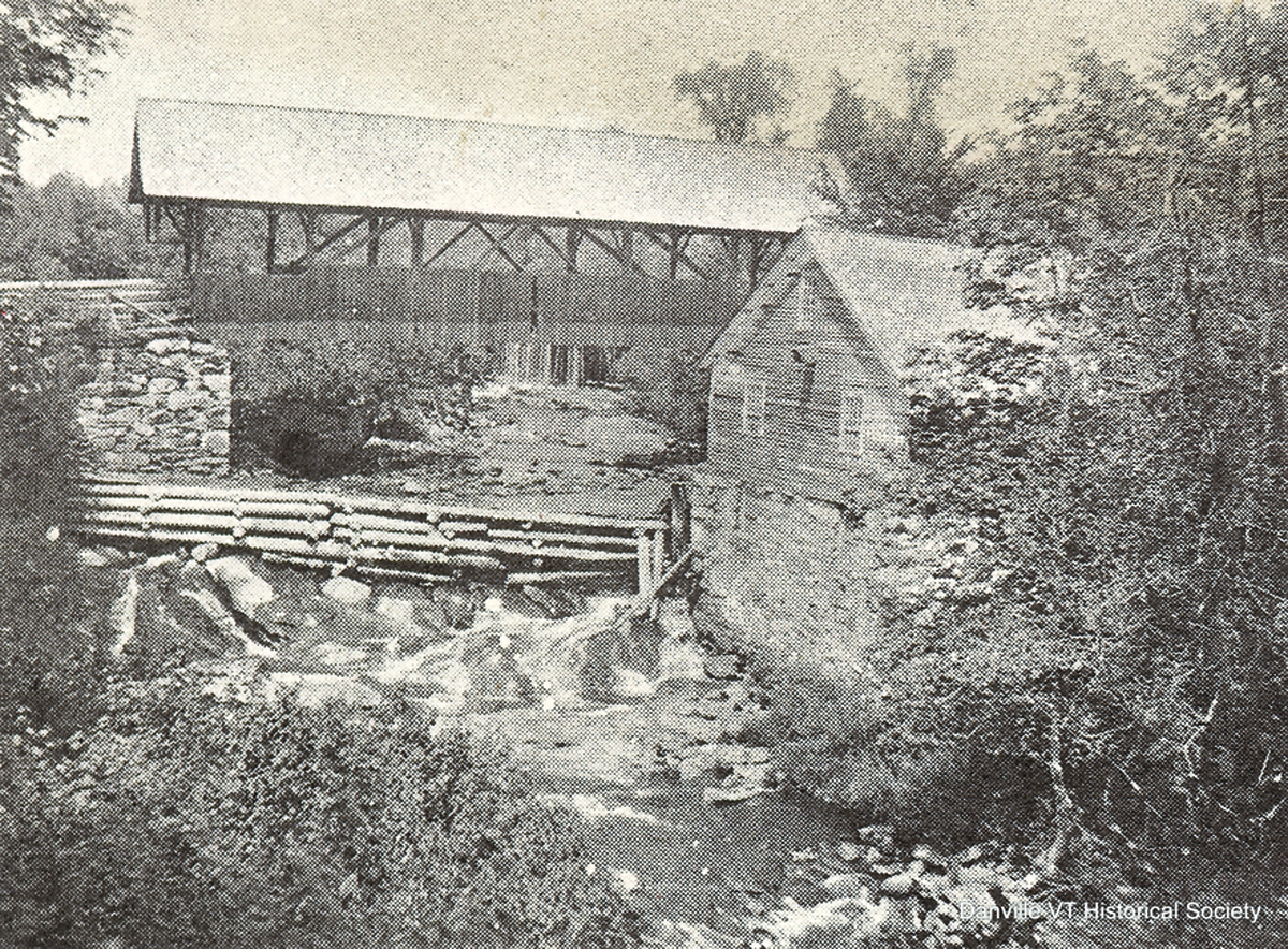 Though there is no proof that this was Morrill's gristmill, it was the gristmill in Greenbank's Hollow and was a very old building. It is now gone, but the site is available to view at the historic park.