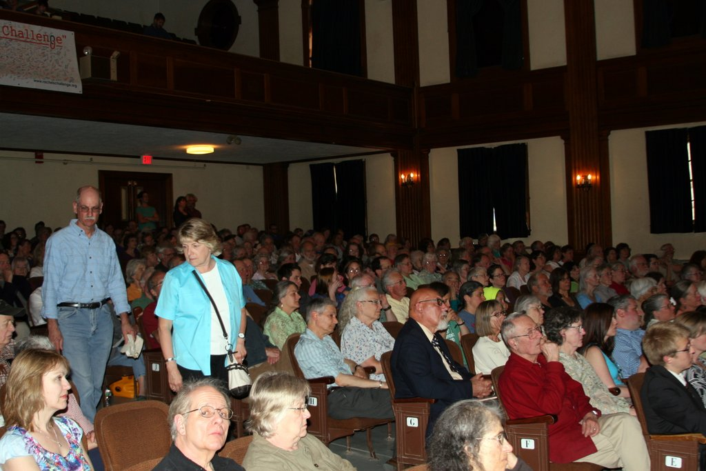 screening at Fuller Hall, St. Johnsbury, VT, on May 4, 2013.