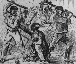 We seldom read of the racial riots in New York City during the Civil War.