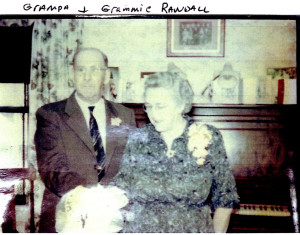 Grampa and Grammie Randall