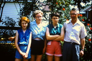 Emily, Emma Lou, Robin and Robert Rothman